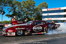 Mike Castellana Heats The Hides With A Massive Burnout In The Al Anabi Racing Pro Mod