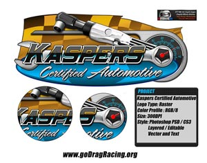 Kaspers Certified Automotive Logo Design