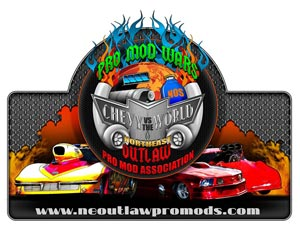 Northeast Outlaw Pro Mods Logo Design Chevy Vs. The World 2011