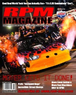 Todd Moyer, ADRL Cover Shot June 2010