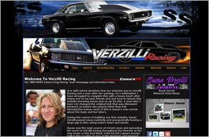 Verzilli Racing website Released, Drag Racing Camaro website